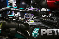 July 4th 2021; Red Bull Ring, Spielberg, Austria; F1 Grand Prix of Austria, race day;  HAMILTON Lewis (gbr), Mercedes AMG F1 GP W12 E Performance on the starting grid