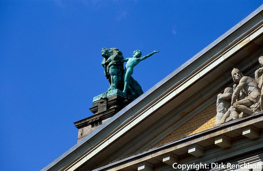 Norwegen, Oslo, Nationaltheater Nasjionaltheatret