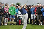 Rory McIlroy plays out of the rough on the 13th hole during Day 2 of the 3 Irish Open at the Killarney Golf & Fishing Club, 30th July 2010..(Picture Eoin Clarke/www.golffile.ie)