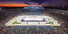 January 5, 2019: The Notre Dame hockey team played in ND Stadium. (Photo by Matt Cashore/University of Notre Dame)