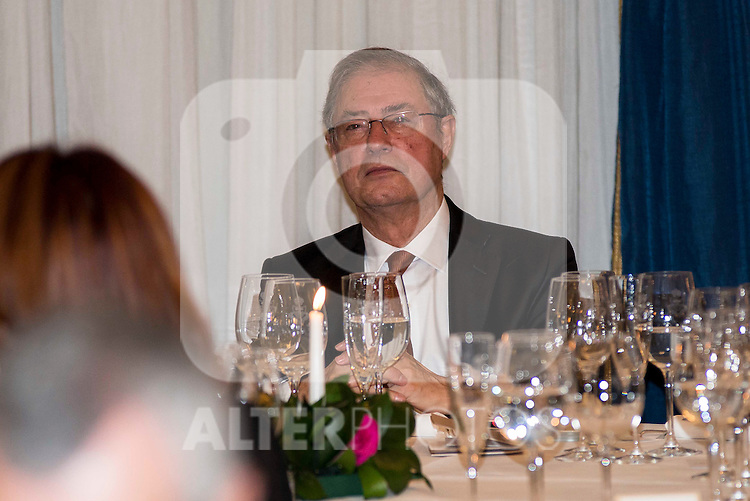 """Journalist Felix Arzua attend the delivery of the XXXII edition of the journalism award """" Francisco Cerecedo """" D. Felix Arzua at Ritz Hotel in Madrid, November 25, 2015<br /> (ALTERPHOTOS/BorjaB.Hojas)"""