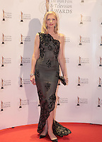 12/2/11 Joely Richardson on the red carpet at the 8th Irish Film and Television Awards at the Convention centre in Dublin. Picture:Arthur Carron/Collins