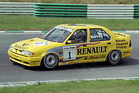 British Touring Car Championship. #1 Tim Harvey (GBR). Renault Dealer Racing. Renault 19 16v.