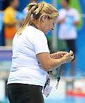 France Latendresse, Rio 2016 - Para Swimming // Paranatation.<br /> Team Canada trains at the Olympic Aquatics Stadium // Équipe Canada s'entraîne au Stade olympique de natation. 06/09/2016.