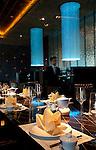 The brand new Blue Ginger restaurant at The Taj Palace Hotel, New Delhi.