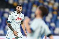 Andrea Petagna of SSC Napoli<br /> during the friendly football match between SSC Napoli and Pescara Calcio 1936 at stadio San Paolo in Napoli, Italy, September 11, 2020. <br /> Photo Cesare Purini / Insidefoto