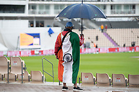 A very wet Hampshire Bowl - some fans remain undaunted during India vs New Zealand, ICC World Test Championship Final Cricket at The Hampshire Bowl on 18th June 2021