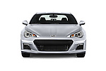 Car photography straight front view of a 2015 Subaru BRZ Limited AT 2 Door Coupe Front View