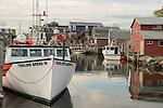 Fisherman's Wharf lobster boats