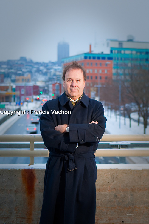 Canadian Lawyer Marc Bellemare poses in Quebec City January 5, 2010. Personal injury lawyer and former Quebec justice minister Marc Bellemare is an advocate of change in the Quebec's no-fault public insurance system.<br /> <br /> PHOTO :  Francis Vachon - Agence Quebec Presse