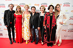 "The cast of the film, Fele Martinez, the director of the film, Ines Paris Bouza, Belen Rueda, Eduardo Fernandez, Maria Pujalte, the poducer of the film and Patricia Montero attends to the premiere of the spanish film ""La noche que mi madre mato a mi padre"" at Palacio de la Prensa in Madrid. April 27, 2016. (ALTERPHOTOS/Borja B.Hojas)"
