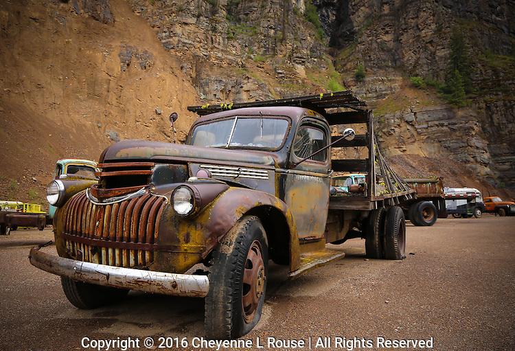 Gravel Pit Chevy Truck