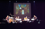 Al Dimeola & World Sinfonia on tour in 2010 in New Jersey at the Count Basie Theater. All Six musicians are visible.