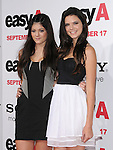 "Kendall Jenner & Kylie Jenner at the Screen Gems' L.A. Premiere of ""Easy A"" held at The Grauman's Chinese Theatre in Hollywood, California on September 13,2010                                                                               © 2010 Hollywood Press Agency"