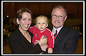 02/05/2003                   Copyright Pic : James Stewart.File Name : stewart-falkirk west 05.DENNIS CANAVAN CELEBRATES WINNING THE FALKIRK WEST SCOTTISH PARLIAMENTARY ELECTION WITH HIS PARTNER CHRISTINE AND THEIR SON ADAM.......James Stewart Photo Agency, 19 Carronlea Drive, Falkirk. FK2 8DN      Vat Reg No. 607 6932 25.Office     : +44 (0)1324 570906     .Mobile  : +44 (0)7721 416997.Fax         :  +44 (0)1324 570906.E-mail  :  jim@jspa.co.uk.If you require further information then contact Jim Stewart on any of the numbers above.........