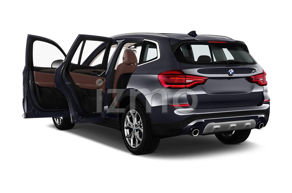 Car images close up view of a 2018 BMW X3 xLine 5 Door SUV doors