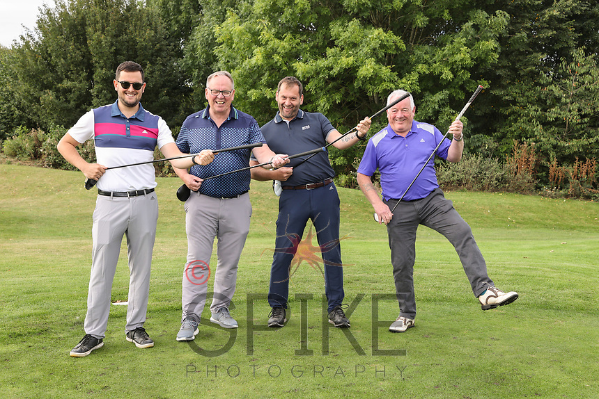 Pictured from left are the Foremost Security team: Pete Ball, Paul Ritchie, Jimi Ball and Chris Smith
