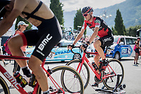 Tejay van Garderen (USA/BMC) warming up pre-stage<br /> <br /> Stage 17: Tirano › Canaze (219km)<br /> 100th Giro d'Italia 2017