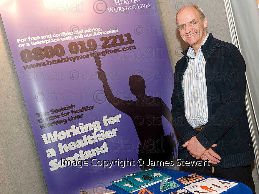 Falkirk Business Exhibition 2011<br /> Healthy Working Lives