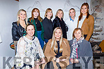 Karen O'Connor from Curaheen Tralee celebrating her birthday in Bella Bia on Friday.<br /> Seated l to r: Leanne McCarthy, Karen and Kay O'Connor.<br /> Back l to r: Marie Sheehan, Rose, Alice and Sheila Molyneaux, Aine Behan and Hazel Mooney.