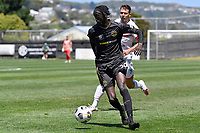 Wan Gatkek of Team Wellington during the ISPS Handa Men's Premiership - Team Wellington v Waitakere Utd at David Farrington Park,Wellington on Saturday 30 January 2021.<br /> Copyright photo: Masanori Udagawa /  www.photosport.nz