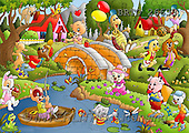 Alfredo, CUTE ANIMALS, puzzle, paintings(BRTO26633,#AC#) illustrations, pinturas, rompe cabeza