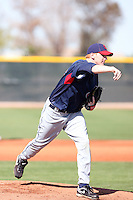 Brett Brach, Cleveland Indians 2010 minor league spring training..Photo by:  Bill Mitchell/Four Seam Images.