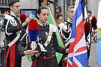 - Milano, 19 giugno 2016, raduno dell'Associazione Nazionale Carabinieri per celebrare i 202 anni dalla fondazione dell'Arma.<br /> <br /> - Milan, June 19, 2016, the Carabinieri National Association gathering to celebrate 202 years since the founding of the Force