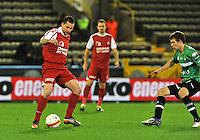 Cercle Brugge KSV - KV Kortrijk : Peter Czvitkovics aan de bal.foto VDB / BART VANDENBROUCKE