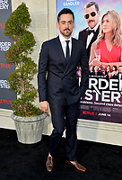 """LOS ANGELES, USA. June 11, 2019: Luis Gerardo Mendez at the premiere of """"Murder Mystery"""" at Regency Village Theatre, Westwood.<br /> Picture: Paul Smith/Featureflash"""