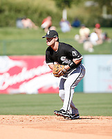 Jayson Nix   -  Chicago White Sox - 2009 spring training.Photo by:  Bill Mitchell/Four Seam Images