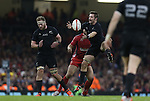 All Blacks captain Richie McCaw takes the high ball.<br /> Dove men Series 2014<br /> Wales v New Zealand<br /> 22.11.14<br /> ©Steve Pope -SPORTINGWALES