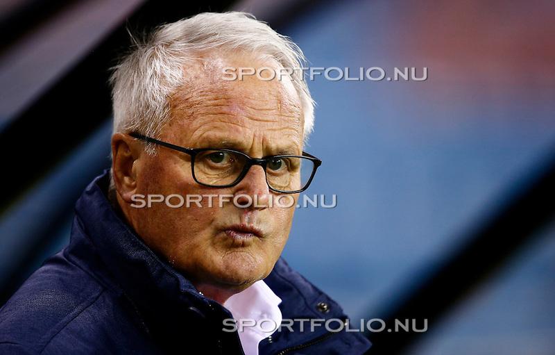 Nederland, Arnhem, 13 februari 2016<br /> Eredivisie<br /> Seizoen 2015-2016<br /> Vitesse-SC Heerenveen <br /> Foppe de Haan, trainer-coach van SC Heerenveen.