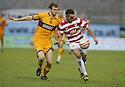 13/02/2010  Copyright  Pic : James Stewart.sct_jspa10_hamilton_v_motherwell  .::  MARK REYNOLDS AND DOUGIE IMRIE ::.James Stewart Photography 19 Carronlea Drive, Falkirk. FK2 8DN      Vat Reg No. 607 6932 25.Telephone      : +44 (0)1324 570291 .Mobile              : +44 (0)7721 416997.E-mail  :  jim@jspa.co.uk.If you require further information then contact Jim Stewart on any of the numbers above.........