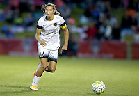 Boyds, MD - Saturday May 07, 2016: Portland Thorns FC midfielder Tobin Heath (17) during a regular season National Women's Soccer League (NWSL) match at Maureen Hendricks Field, Maryland SoccerPlex. Washington Spirit tied the Portland Thorns 0-0.