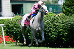 June 26, 2021: Next, #8, ridden by jockey John Velazquez, wins the War Chant Stakes for three-year-olds on the turf at Churchill Downs on June 26, 2021 in Louisville, Kentucky. Jessica Morgan/Eclipse Sportswire/CSM