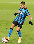 Football Club Internazionale Milano's Alexis Sanchez during UEFA Champions League match. November 3,2020.(ALTERPHOTOS/Acero)