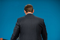 Landesparteitag der Berliner SPD am Samstag den 11. November 2017.<br /> Im Bild: Michael Mueller, Landesvorsitzender und Regierender Buergermeister.<br /> 11.11.2017, Berlin<br /> Copyright: Christian-Ditsch.de<br /> [Inhaltsveraendernde Manipulation des Fotos nur nach ausdruecklicher Genehmigung des Fotografen. Vereinbarungen ueber Abtretung von Persoenlichkeitsrechten/Model Release der abgebildeten Person/Personen liegen nicht vor. NO MODEL RELEASE! Nur fuer Redaktionelle Zwecke. Don't publish without copyright Christian-Ditsch.de, Veroeffentlichung nur mit Fotografennennung, sowie gegen Honorar, MwSt. und Beleg. Konto: I N G - D i B a, IBAN DE58500105175400192269, BIC INGDDEFFXXX, Kontakt: post@christian-ditsch.de<br /> Bei der Bearbeitung der Dateiinformationen darf die Urheberkennzeichnung in den EXIF- und  IPTC-Daten nicht entfernt werden, diese sind in digitalen Medien nach §95c UrhG rechtlich geschuetzt. Der Urhebervermerk wird gemaess §13 UrhG verlangt.]