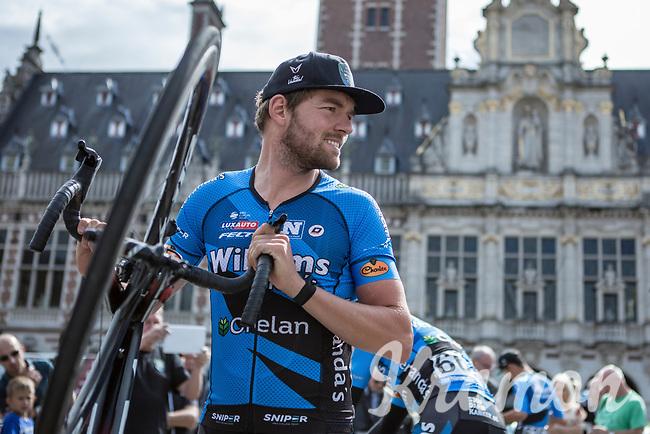 Sander Cordeel (BEL/Veranda's Willems-Crelan) pre race<br /> <br /> 51th GP Jef 'Poeske' Scherens 2017 <br /> Leuven - Leuven (13local laps/153.7km)