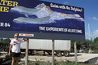 dolphin anti-captivity activist Ric O'Barry in the Florida Keys