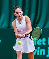 Wateringen, The Netherlands, March 16, 2018,  De Rhijenhof , NOJK 14/18 years, Nat. Junior Tennis Champ. Floor Lissone(NED)<br /> Photo: www.tennisimages.com/Henk Koster