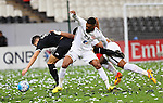 Al Jazira (UAE) vs Al Sadd (QAT) during their AFC Champions League Playoff Stage match on 09 February 2016 held at the Mohammed Bin Zayed Stadium in Abu Dhabi, UAE. Photo by Stringer/ Lagardere Sports