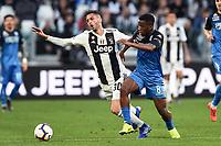 Rodrigo Bentancur of Juventus , Hamed Junior Traore of Empoli <br /> Torino 30-03-2019 Allianz Stadium <br /> Football Serie A 2018/2019 Juventus - Empoli <br /> Photo  Daniele Buffa / Image Sport / Insidefoto
