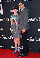 "LOS ANGELES, USA. August 02, 2019: Peter Ciuffa & Guest at the premiere of ""The Art of Racing in the Rain"" at the El Capitan Theatre.<br /> Picture: Paul Smith/Featureflash"