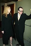 Diana Krall and Elvis Costello Attending the Opening Night Performance of THE LOOK OF LOVE ... THE SONGS OF BURT BACHARACH  and HAL DAVID at the Brooks Atlinson Theater,<br /> New York City.<br /> May 4, 2003
