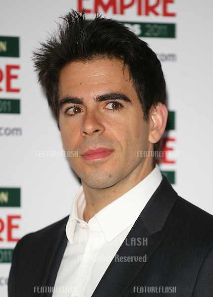 Eli Roth arriving for the Jameson Empire Awards 2011, Grosvenor House Hotel, London. 27/03/2011  Picture by: Alexandra Glen / Featureflash
