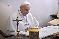 Pope Francis Tonga's King Ahoeitu Unuakiotonga Tukuaho Tupou VI  Vatican,February 16, 2015