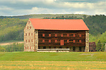 Old Stone End Barn, Loyalsock township, Route 87 Highway.