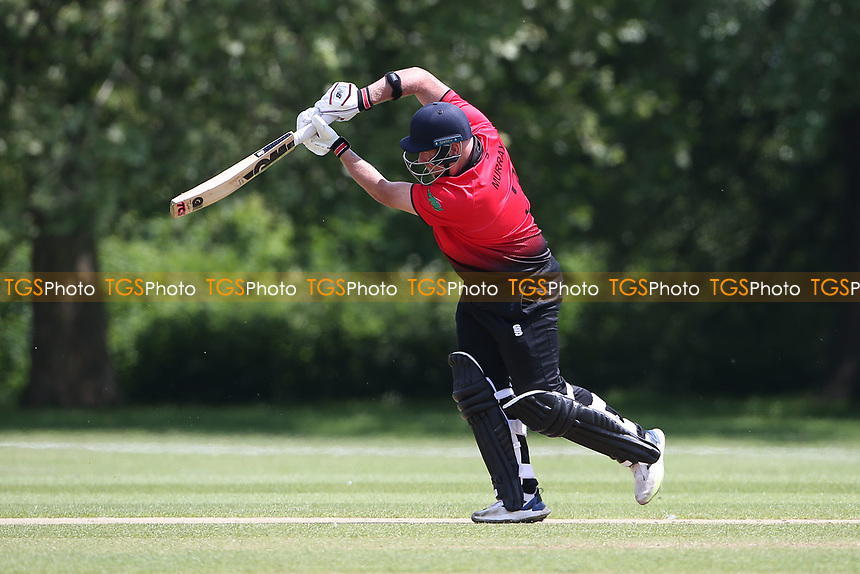 P Murray in batting action for Hornchurch during Hornchurch CC vs Harold Wood CC, Hamro Foundation Essex League Cricket at Harrow Lodge Park on 5th June 2021