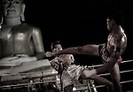 Every year in the border town of Mae Sot, Burmese and Thai boxers meet for a series of bare-fist fights. The main event takes place in the centre of town, but there are also smaller matches in the villages and temples of the surrounding countryside.